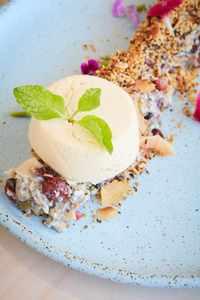 Desert To Enjoy At Blackwork Cafe Croydon