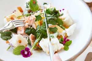 Healthy Foods At Blackwork Cafe Croydon