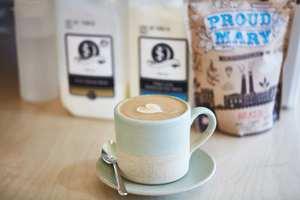 Coffee At Blackwork Cafe Croydon
